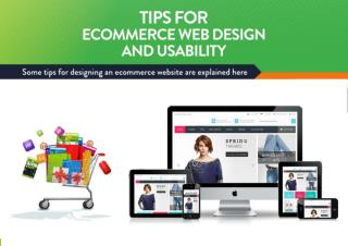 Tips for eCommerce Web Design
