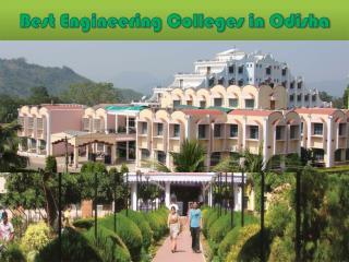 Best Engineering Colleges in Odisha
