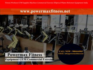 Fitness Workout GYM Supplies Machine Commercial Exercise Elliptical Pilates Reformer Equipment India