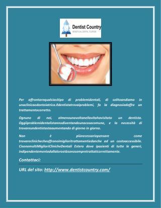 I migliori Impianti dentali e dentisti all'estero prezzi