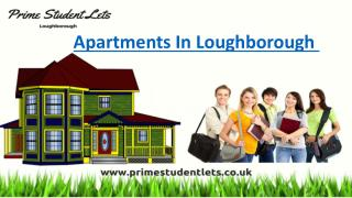 Cheap and best Apartments in loughborough