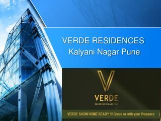 Verde Residences Kalyani Nagar Pune. Call-  918888832423