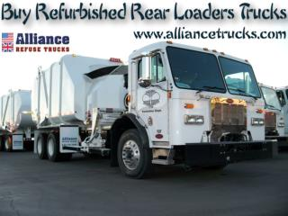 Buy Refurbished Rear Loaders Trucks