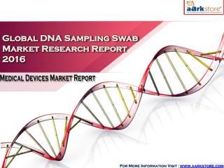 Global DNA Sampling Swab Market Research Report 2016