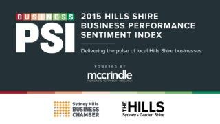 Business PSI Results Summary Mark McCrindle November 2015