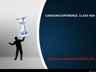 Canadian Experience Class visa