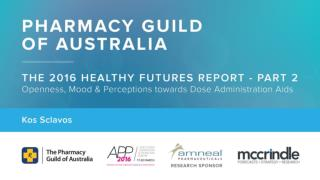 Pharmacy Guild presentation part 2   McCrindle Research and Kos Sclavos