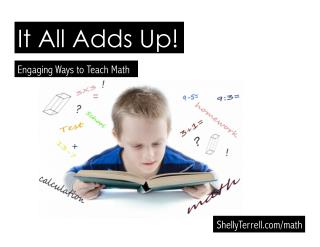 It All Adds Up! Engaging Math Strategies, Web Tools, and Apps