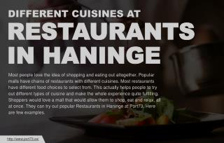 World class cuisines to try at Port 73 Haninge