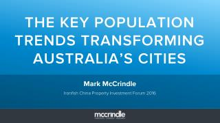 Australia defined: China property investment forum 2016
