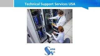 Technical Support Services USA - Suma Soft