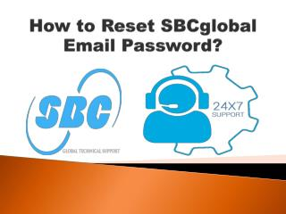 Steps to Reset SBCglobal Email Password