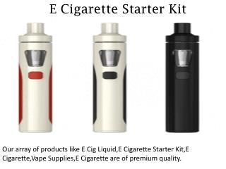 E Cigarette Starter Kit - vapr.com.au