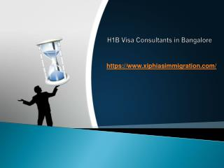H1B Visa Consultants in Bangalore