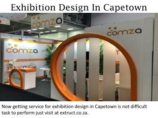 Exhibition Design In Capetown - extruct.co.za