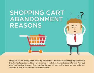 Shopping Cart Abandonment Reasons