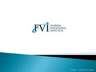 Pharmacy Technician School - Florida Vocational Institute