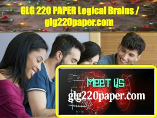 GLG220PAPER Logical Brains / glg220paper.com