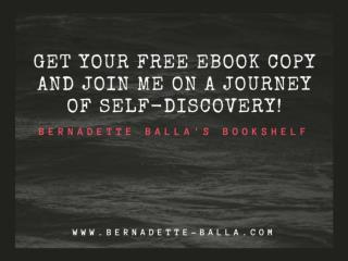 Get your free eBook copy and join me on a journey of self-discovery!
