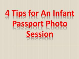 4 Tips for An Infant Passport Photo Session