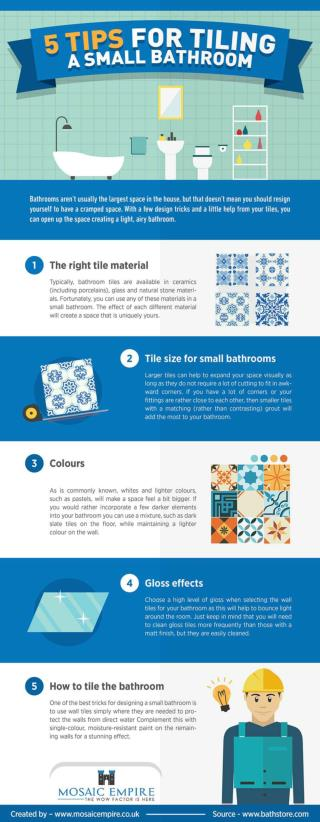 5 Tips for Tiling a Small Bathroom