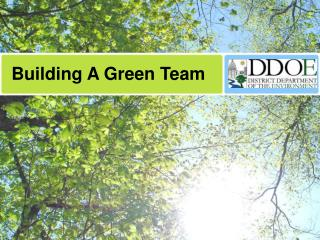 Building A Green Team