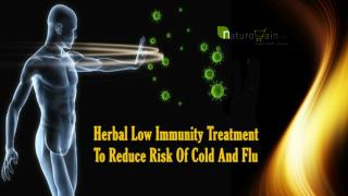 Herbal Low Immunity Treatment To Reduce Risk Of Cold And Flu
