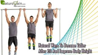 Natural Ways To Become Taller After 20 And Improve Body Height