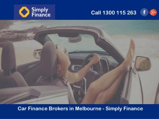 Car Finance Brokers in Melbourne - Simply Finance