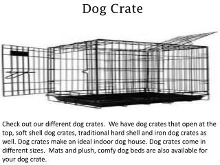 Dog Crate - discountpetme.com