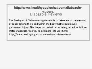 http://www.healthyapplechat.com/diabazole-reviews/