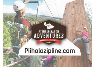 Piiholo Ranch Zipline
