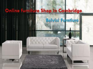 Online furniture shop in Cambridge