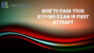 210-060 Exam