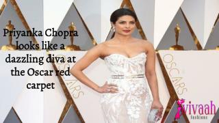 Priyanka Chopra looks like a dazzling diva at the Oscar red carpet