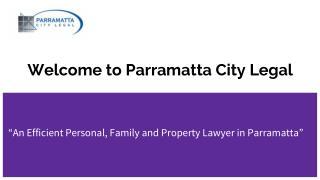 Conveyancing Lawyers Parramatta