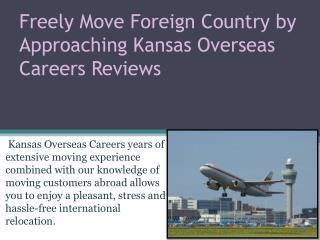 Kansas Overseas Careers Reviews based in Hyderabad