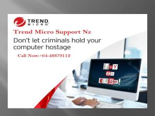 Get Fix your issues with Trend Micro Antivirus Support NZ