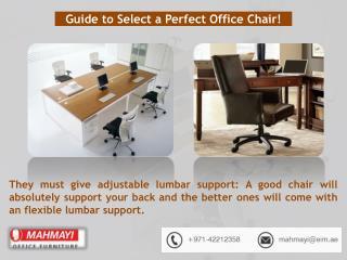 Mahmayi Furniture for Dubai office Chair suppliers
