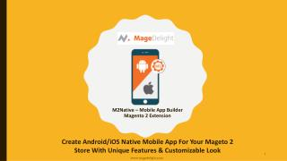 M2Native - The Complete Magento 2 Mobile App Solution