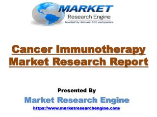 Cancer Immunotherapy Market Worth US$ 145 Billion by 2022