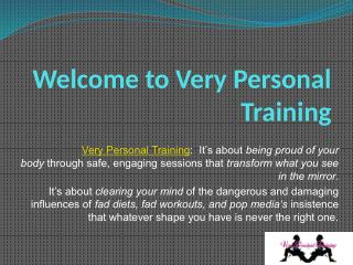 Very Personal Training