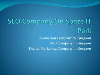 SEO Company On Sohna Road