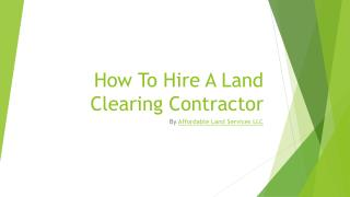 Affordable Land Services LLC