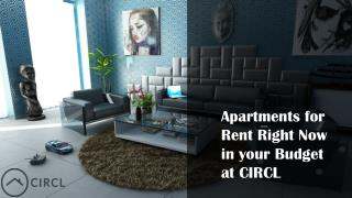 Apartments for Rent Right Now in your Budget at CIRCL