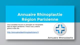 Annuaire des rhinoplasticiens