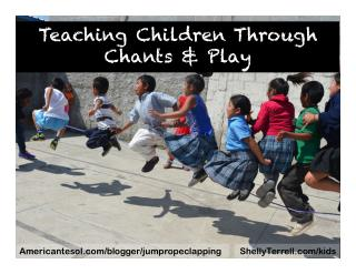 Chanting Games and Play for Children