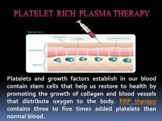 Platelet Rich Plasma Therapy Boca Raton Florida