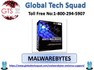 support For Malwarebytes Antivirus 2017  Toll free no.1-800-294-5907