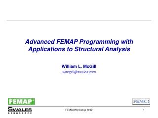 Advanced FEMAP Programming with Applications to Structural Analysis